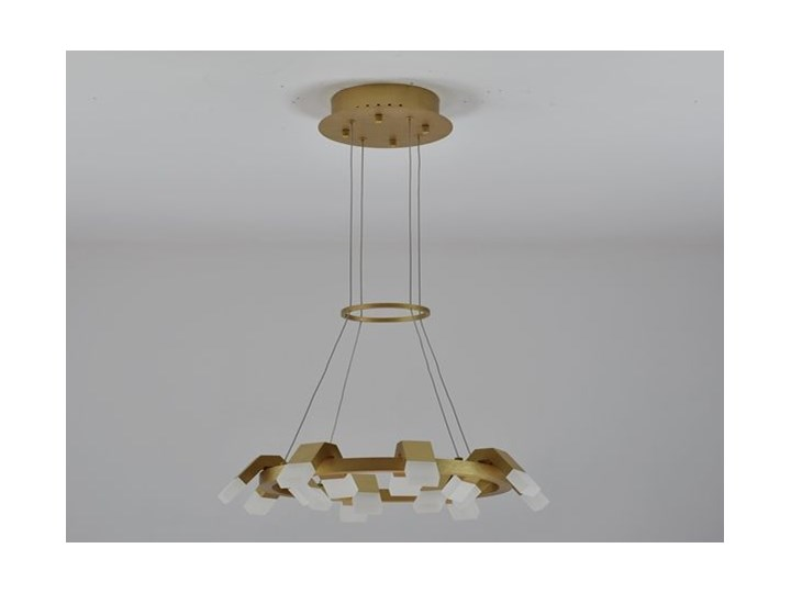 MCODO ::  Oryginalny żyrandol led Amira o mocy 60W z ciepłą barwą 3000K Lampa inspirowana Tworzywo sztuczne Kategoria Lampy wiszące