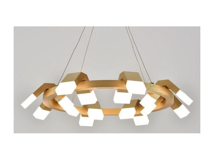 MCODO ::  Oryginalny żyrandol led Amira o mocy 60W z ciepłą barwą 3000K Lampa inspirowana Tworzywo sztuczne Pomieszczenie Sypialnia