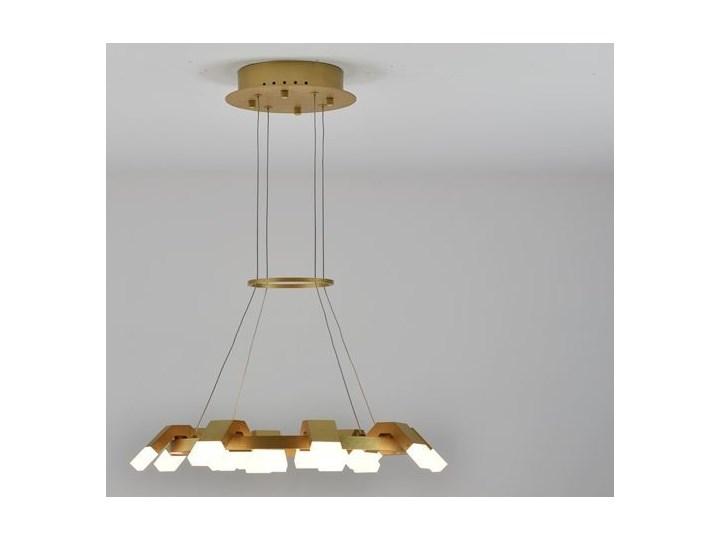 MCODO ::  Oryginalny żyrandol led Amira o mocy 60W z ciepłą barwą 3000K Kategoria Lampy wiszące Tworzywo sztuczne Lampa inspirowana Pomieszczenie Sypialnia