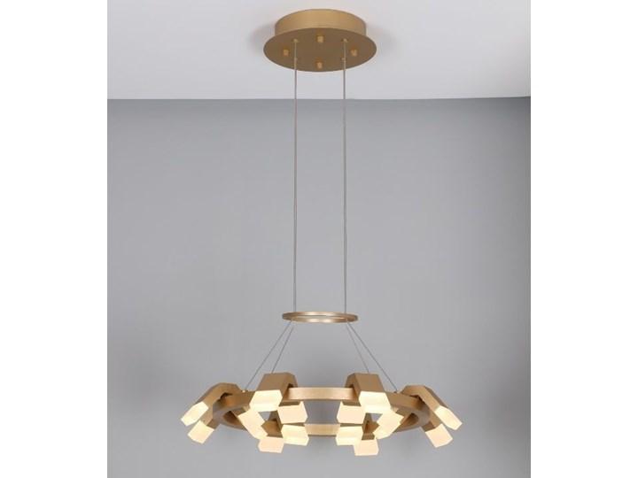 MCODO ::  Oryginalny żyrandol led Amira o mocy 60W z ciepłą barwą 3000K Tworzywo sztuczne Lampa inspirowana Kategoria Lampy wiszące