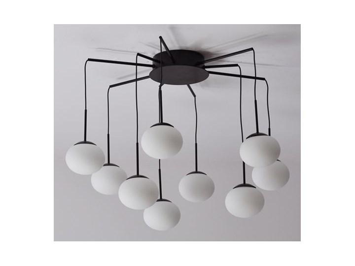 MCODO ::  Klimatyczna lampa led Adele o mocy 40W z ciepłą barwą 3000K Lampa z kloszem Szkło Kategoria Lampy wiszące