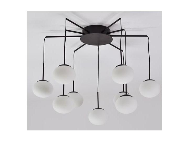 MCODO ::  Klimatyczna lampa led Adele o mocy 40W z ciepłą barwą 3000K Szkło Pomieszczenie Salon Lampa z kloszem Kategoria Lampy wiszące