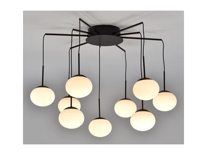 MCODO ::  Klimatyczna lampa ADELE o mocy 40W z ciepłą barwą 3000K Nowość Lampa z kloszem Styl Nowoczesny Szkło Lampa LED Kategoria Lampy wiszące