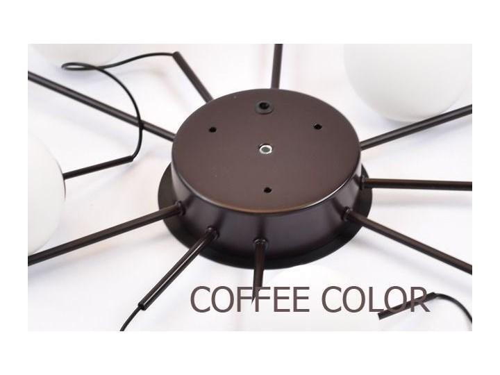 MCODO ::  Klimatyczna lampa led Adele o mocy 40W z ciepłą barwą 3000K Pomieszczenie Salon Szkło Lampa z kloszem Kategoria Lampy wiszące