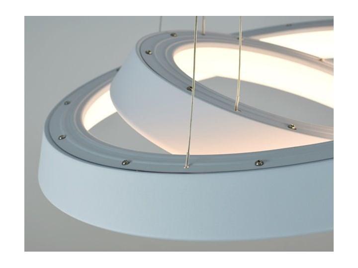 MCODO ::  Ultranowoczesna lampa led  Orbit rp2  barwa ciepła 3000K Tworzywo sztuczne Lampa inspirowana Metal Kategoria Lampy wiszące