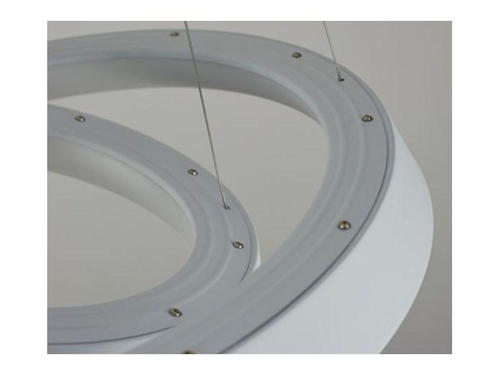 MCODO ::  Ultranowoczesna lampa led  Orbit rp2  barwa ciepła 3000K Styl Nowoczesny Tworzywo sztuczne Lampa inspirowana Metal Kolor Biały