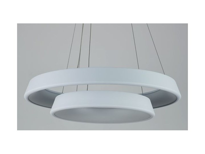 MCODO ::  Ultranowoczesna lampa led  Orbit rp2  barwa ciepła 3000K Lampa inspirowana Tworzywo sztuczne Metal Kolor Biały