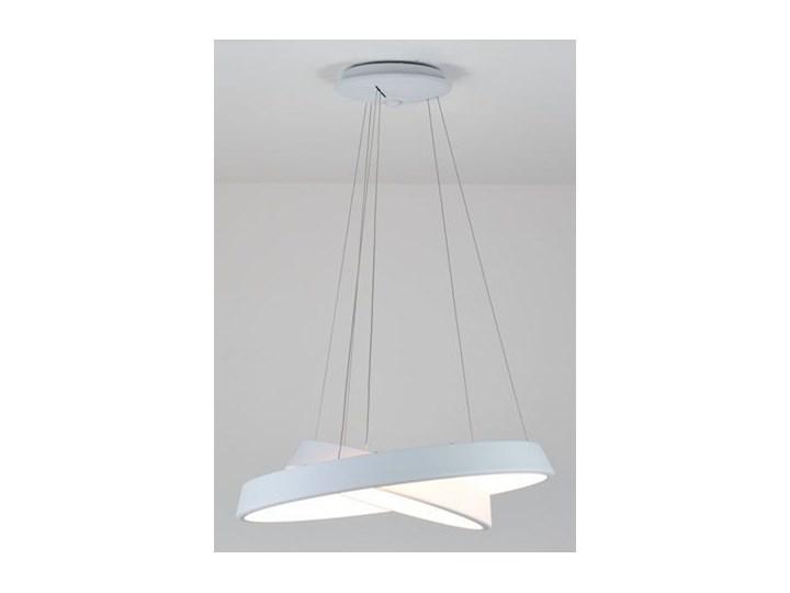 MCODO ::  Ultranowoczesna lampa led  Orbit rp2  barwa ciepła 3000K Lampa inspirowana Metal Tworzywo sztuczne Kolor Biały