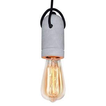 MCODO ::  Lampa zawiesie z oprawką betonową E27 idealne do żarówek edison