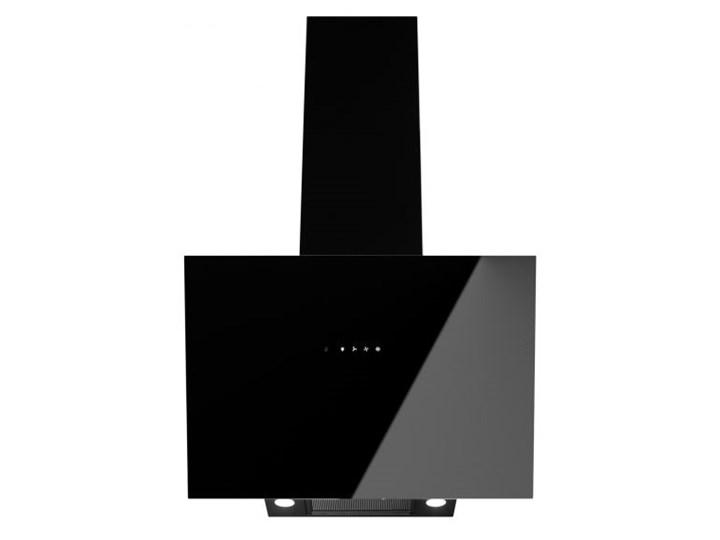Okap kominowy Dynamic Pro Black 60 cm Sterowanie Elektroniczne Okap teleskopowy Kolor Czarny