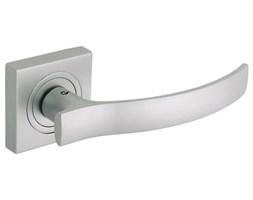 Klamka drzwiowa VITALIS szyld dzielony nikiel satynowy DH-03-22-06-KW Gamet_DARMOWA DOSTAWA OD 99 zł