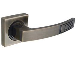 Klamka drzwiowa HYDRA szyld dzielony mosiądz antyczny DH-14-22-AB-KW Gamet_DARMOWA DOSTAWA OD 99 zł