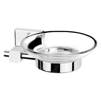 Mydelniczka łazienkowa Corsan CA03 szklana podstawka na mydło