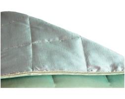 Narzuta pikowana dwustronna 200x220cm jasny zielono-ciemno zielona_DARMOWA DOSTAWA !!!