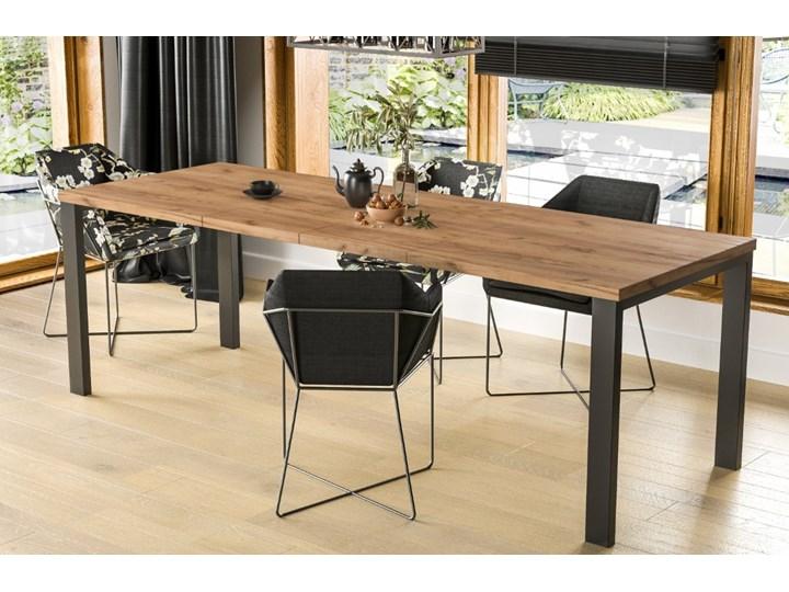 Stół Garant 170 z blatem 80x80 rozkładany do 170 cm Długość 80 cm  Szerokość 80 cm Rozkładanie Rozkładane