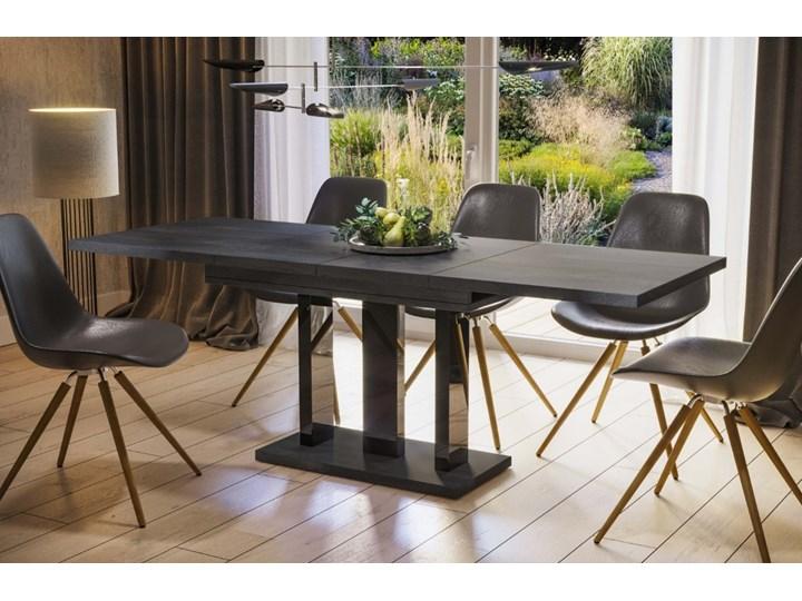 Stół Appia 210 rozkładany od 130 do 210 cm noga czarny połysk Pomieszczenie Stoły do jadalni Rozkładanie