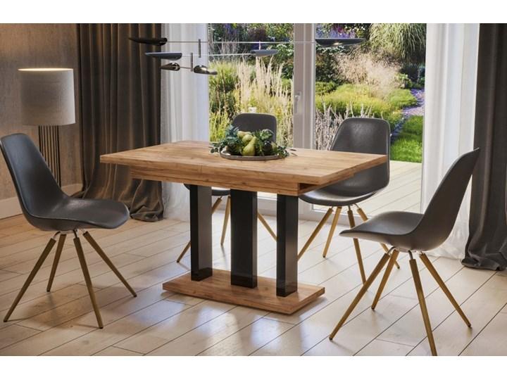 Stół Appia 210 rozkładany od 130 do 210 cm noga czarny połysk Pomieszczenie Stoły do jadalni Kategoria Stoły kuchenne