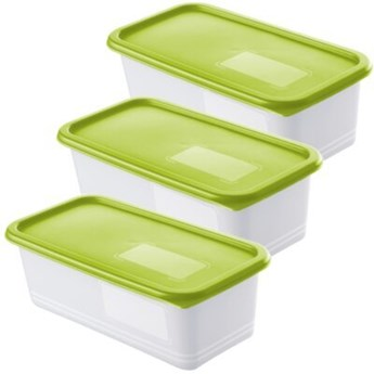 Zestaw pojemników na żywność ROTHO Domino 1755305070 3 szt.