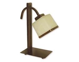 Lampa stołowa Duo 1-płomienna brązowa O1428 BR Lemir_DARMOWA DOSTAWA !!!