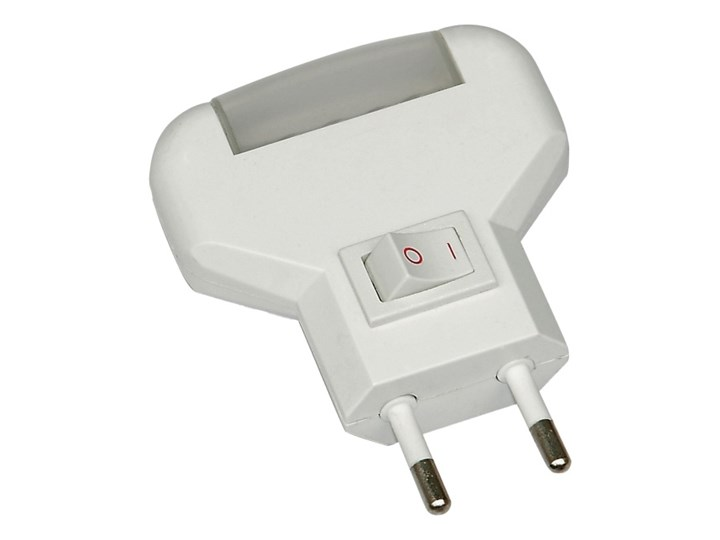 Lampka LED DPM Solid 0,12 W z włącznikiem żółta