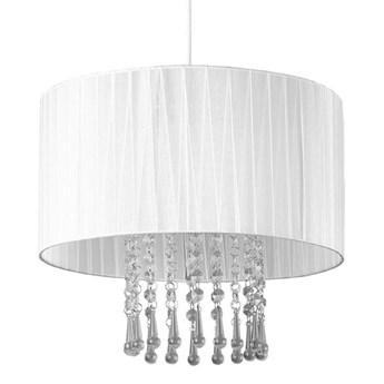 Lampa wisząca w stylu glamour E419-Wenez - biały