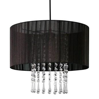 Lampa wisząca z kryształkami E419- Wenez - czarny