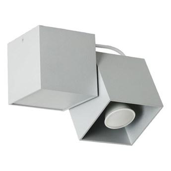 Metalowa lampa sufitowa E547-Krafi - popiel