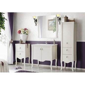 Komplet białych mebli łazienkowych Kimberley 80