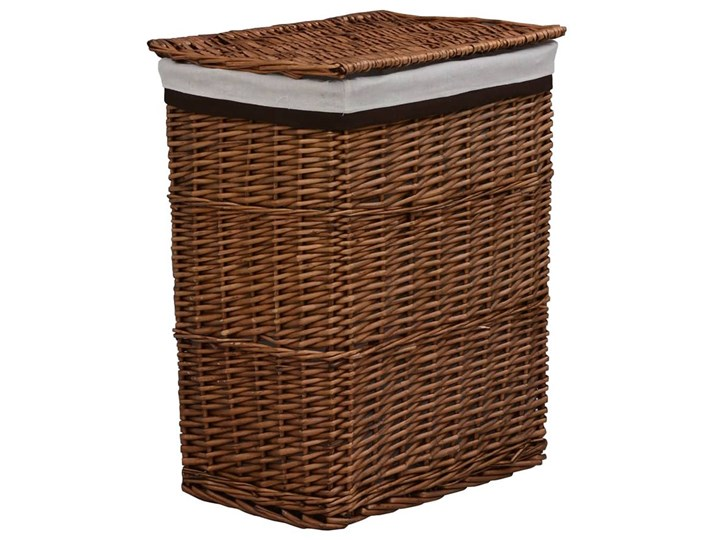 Kosz wiklinowy na pranie Riten - brąz Kategoria Wiklina Kolor Brązowy