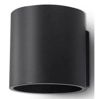 Nowoczesny kinkiet halogenowy E713-Orbil - czarny