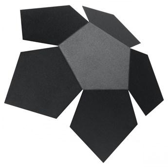 Futurystyczny kinkiet E746-Penti - czarny