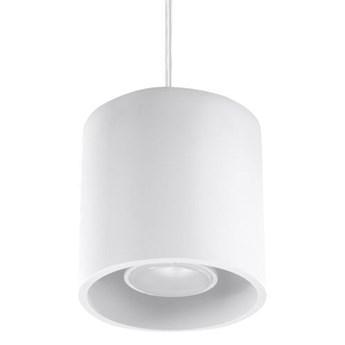 Minimalistyczna lampa wisząca E815-Orbil - biały