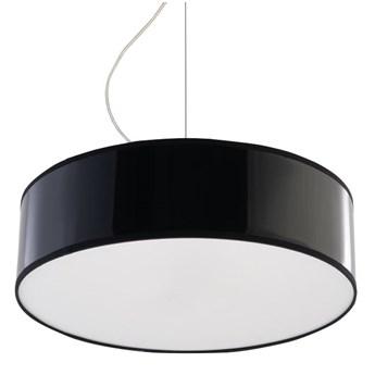 Okrągła lampa wisząca E817-Arens - czarny