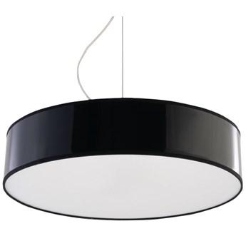 Okrągła lampa wisząca LED E818-Arens - czarny