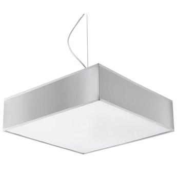Kwadratowa lampa wisząca E819-Horux - szary
