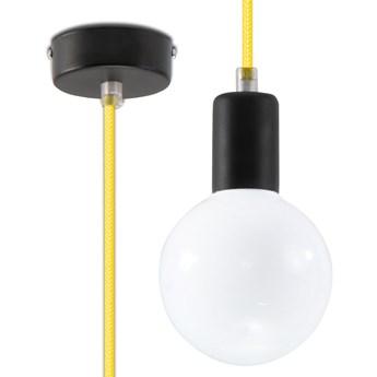 Pojedyncza lampa wisząca E825-Edisos - żółty