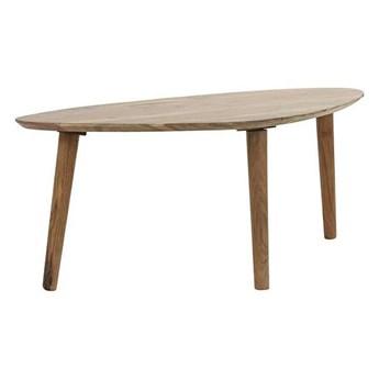 Drewniany stolik kawowy Taggo - naturalny