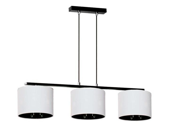 Zmieniająca kolor lampa wisząca nad stół E914-Izydo Tworzywo sztuczne Metal Lampa z abażurem Kolor Biały