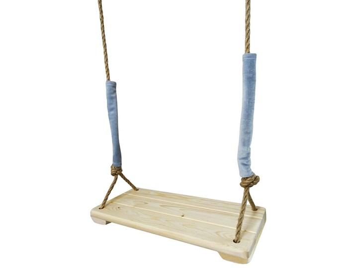 Huśtawka dziecięca Denis - naturalna Trapez Drewno Kategoria Huśtawki dla dzieci