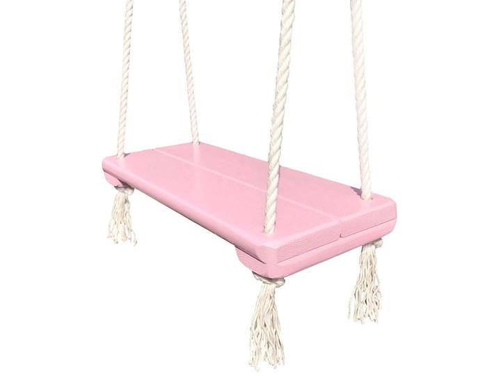 Różowa huśtawka dla dziewczynki - Rino
