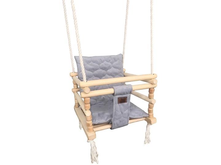 Drewniana huśtawka 3w1 dla dziecka - Dingo Drewno Kubełkowa Kategoria Huśtawki dla dzieci