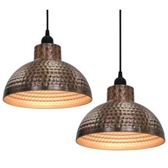 Komplet dwóch metalowych lamp wiszących - EX16-Tores
