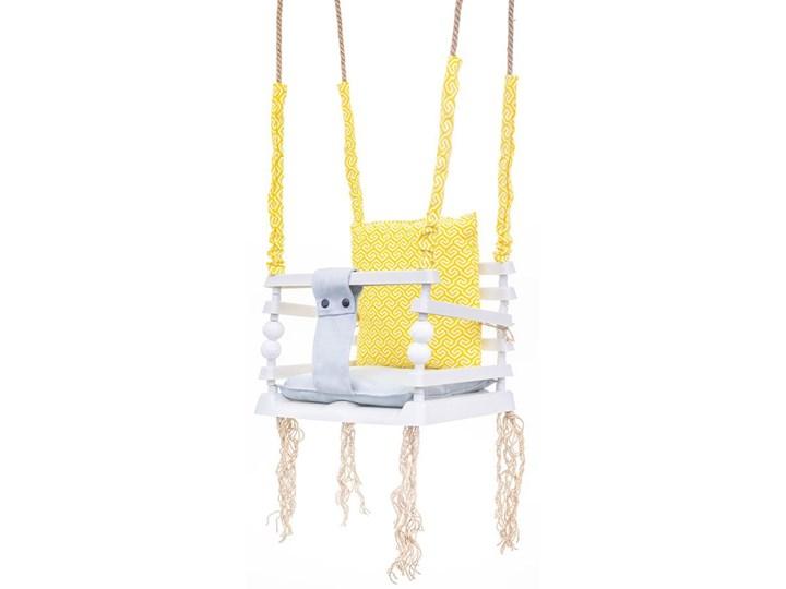 Żółta huśtawka dla dziecka 3w1 - Pola