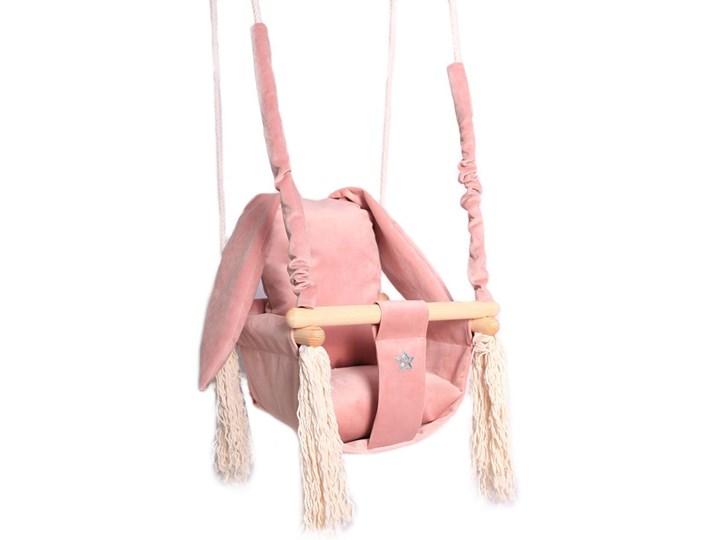 Różowa huśtawka królik dla dziewczynki - Delia Kubełkowa Kategoria Huśtawki dla dzieci