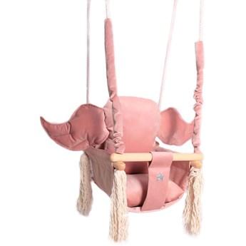 Różowa huśtawka dla dziewczynki - Tiana