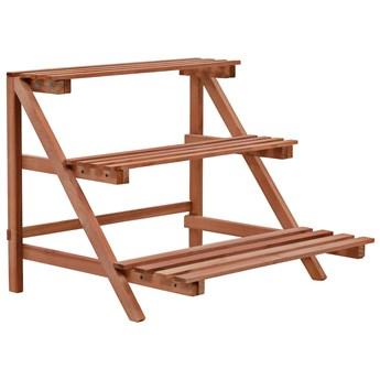 Regał na rośliny z drewna cedrowego - Escado