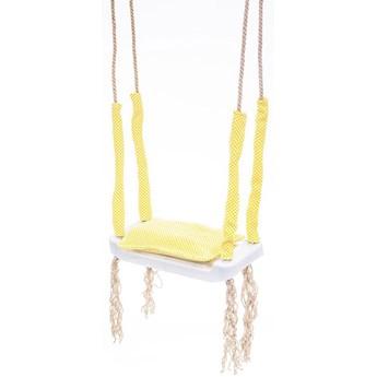 Żółta huśtawka dla dziecka - Kiara