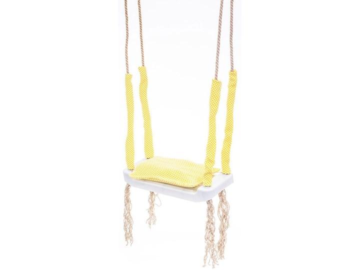 Żółta huśtawka dla dziecka - Kiara Trapez Kategoria Huśtawki dla dzieci