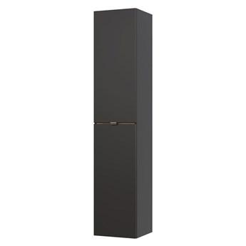 Podwieszany słupek łazienkowy - Malta 2X Czarny mat
