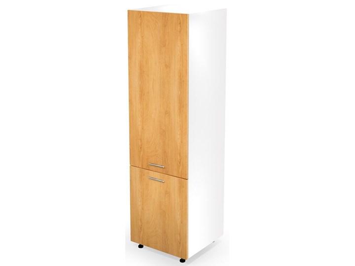 Kuchenna szafka do zabudowy lodówki dąb miodowy - Limo 14X